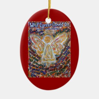 Southwest Cancer Angel Ornament Pendant Customized