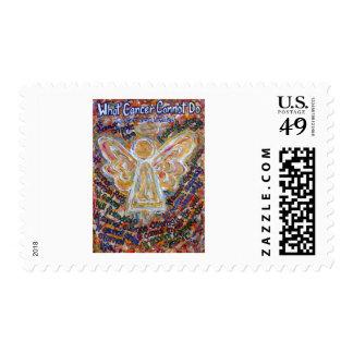 Southwest Cancer Angel Postage Stamp