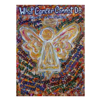 Southwest Cancer Angel Poster