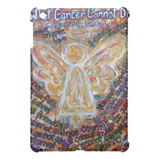 Southwest Cancer Cannot Angel Art iPad Hard Case Cover For The iPad Mini