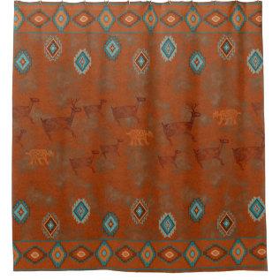 Southwest Canyon Shower Curtain at Zazzle