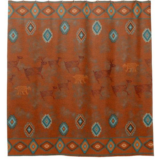 Southwest Canyon Shower Curtain