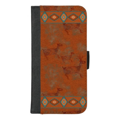 Southwest Canyons Deer iPhone 87 Plus Wallet Case