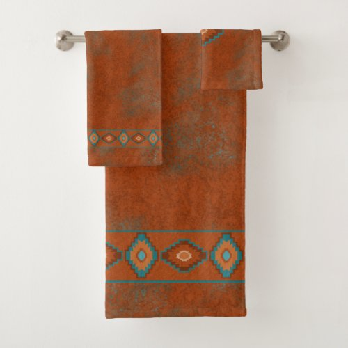 Southwest Canyons Diamond Bath Towel Set
