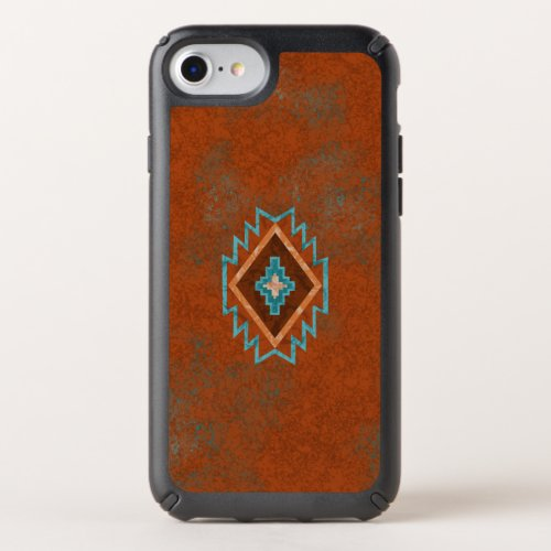 Southwest Canyons Diamond Speck iPhone Case