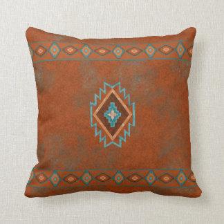 Southwest Canyons Diamond Throw Pillow