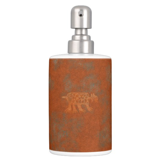 Southwest Canyons Petroglyphs Soap Dispenser And