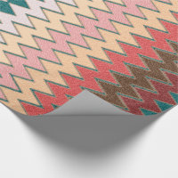Southwest Chevron Zigzag Wrapping Paper
