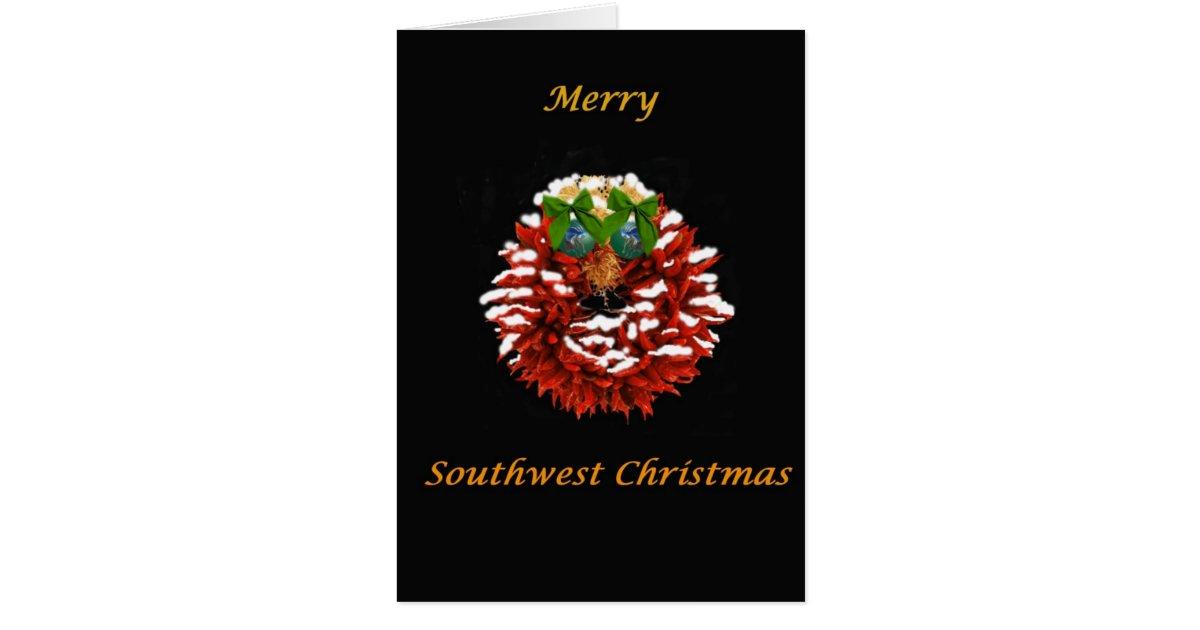 southwest christmas card