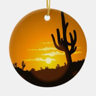 Southwest Christmas Christmas Ornament