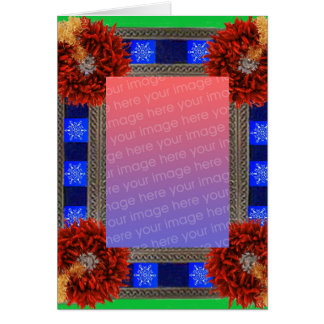 Southwest Christmas Template Greeting Cards