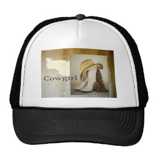 Southwest Cowgirl Lace Boot Hat