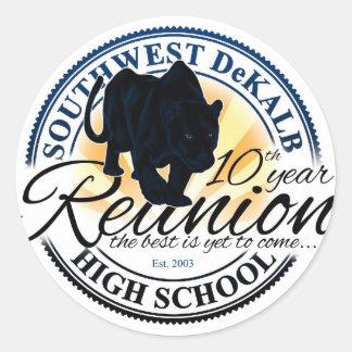 Southwest Dekalb High School Class 10 Year Reunion Sticker