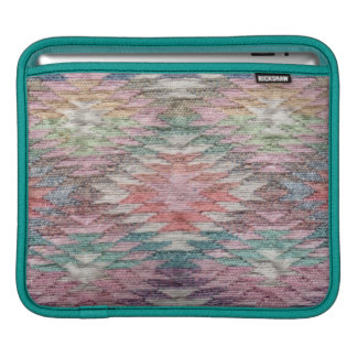 Southwest Desert Diamonds Woven Look - Horizontal Sleeve For iPads