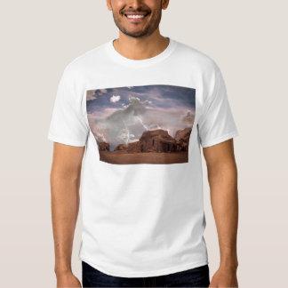 Southwest Desert Lightning Storm Landscape T-Shirt
