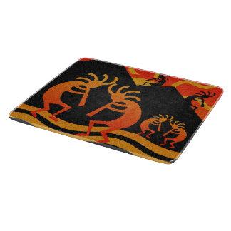 Southwest Desert Sunset Kokopelli Cutting Boards
