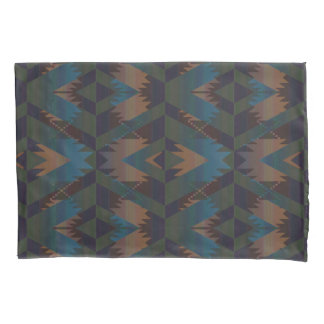 Southwest Design Aztec Pattern Pillowcase
