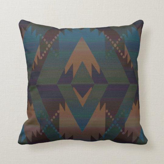 Southwest Design Aztec Throw Pillow Zazzle Com