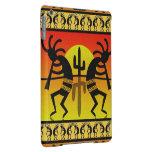 Southwest Design Dancing Kokopelli Desert Cactus iPad Air Cases