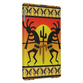 Southwest Design Dancing Kokopelli Desert Cactus iPad Air Cover