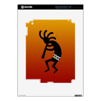 Southwest Design Dancing Kokopelli iPad 2 Decals