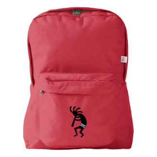 Southwest Design Dancing Kokopelli School Book Bag Backpack