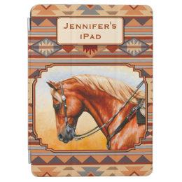 Southwest Design Quarter Horse iPad Air Cover