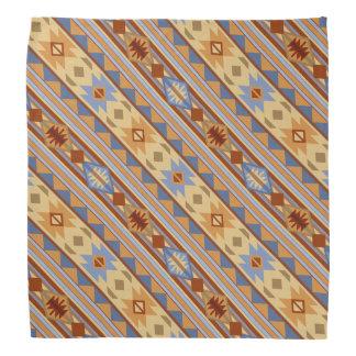 Southwest Design Rust Gray Gold Bandana