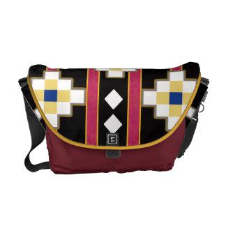 southwest diamonds courier bag