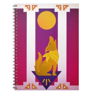 Southwest Dog Spiral Notebook