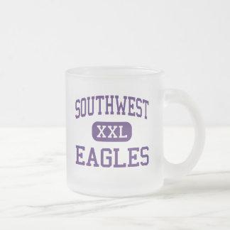Southwest - Eagles - High - El Centro California 10 Oz Frosted Glass Coffee Mug