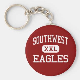 Southwest - Eagles - Middle - Savannah Georgia Key Chains