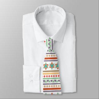 Southwest Ethnic Native Tribal Pattern Neck Tie