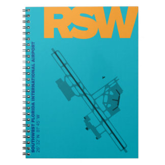 Southwest Florida Airport (RSW) Diagram Notebook