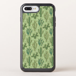 Southwest Geo Step | Green Cactus Pattern Speck iPhone Case