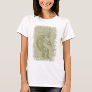 Southwest Green Dancing Kokopelli T-Shirt