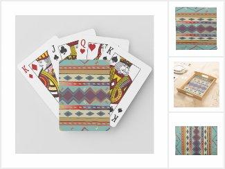 Southwest Indian Blanket Design