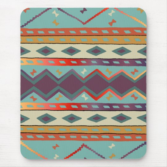 Southwest Indian Blanket Design Mousepad