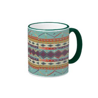 Southwest Indian Blanket Design Mug