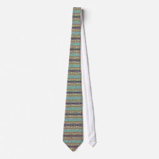 Southwest Indian Blanket Design Tie