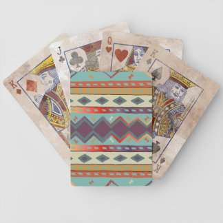 Southwest Indian Design Bicycle Playing Cards