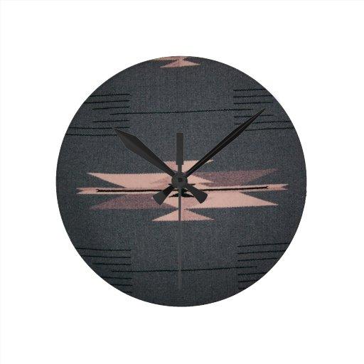 Southwest Indian Design Clocks