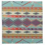 Southwest Indian Design Cloth Napkin Set of 4