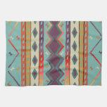 Southwest Indian Design Cotton Kitchen Towel