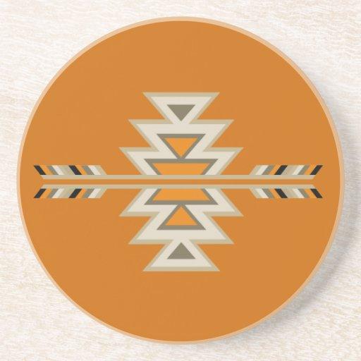 Southwest Indian Design Drink Coasters Zazzle