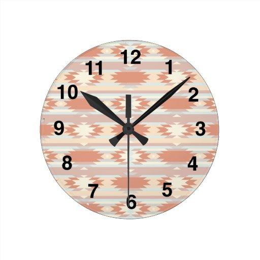 Southwest Inspiration Round Clock