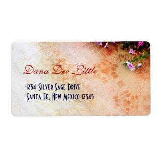 Southwest-inspired Label