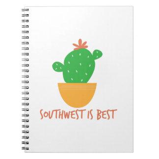 Southwest Is Best Spiral Notebooks