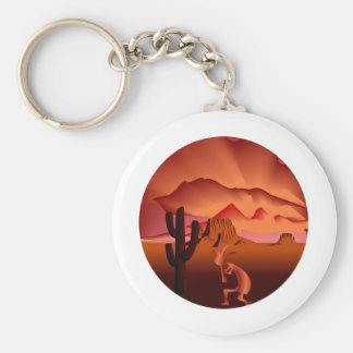 Southwest Kokopelli Key Chain