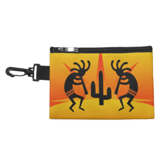 Southwest Kokopelli Orange Yellow Desert Sunset Accessories Bags